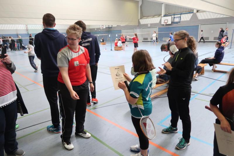 Kreismeisterschaften Badminton 2019